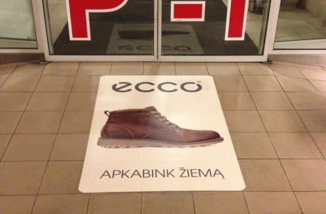 ECCO Shoes reklama 2015 Žiema